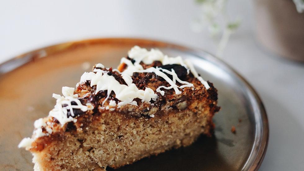 Karamellisierter Pekannuss Kuchen
