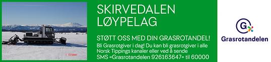 Grasrot Plakat Skirvedalen Løypelag[1029