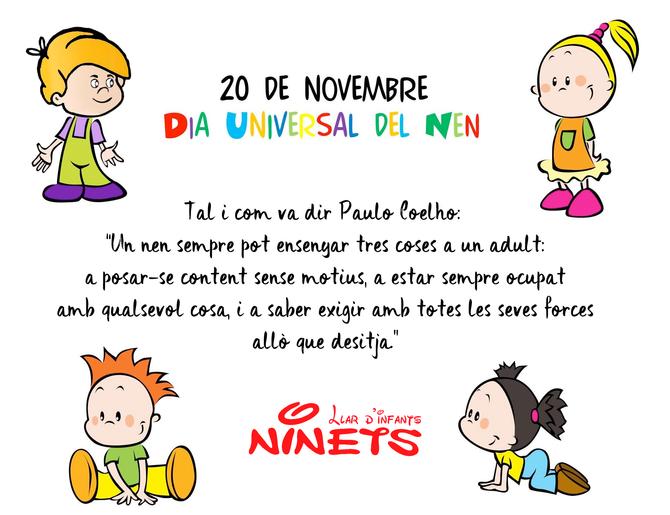 Dia Universal dels Drets dels Infants