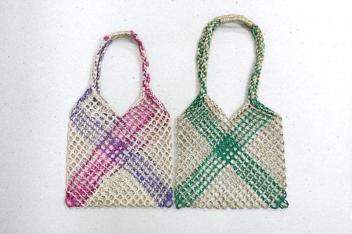 Jute rope weaving baguct