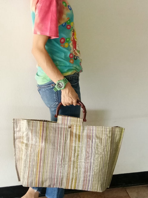 Recycle Tote bag; 57x33