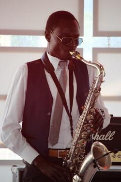 Chilli & Lime saxophonist
