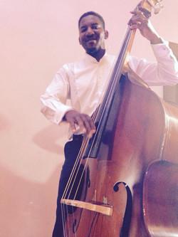 Chilli & Lime double bassist