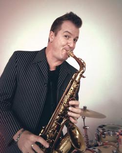 Solo saxophonist