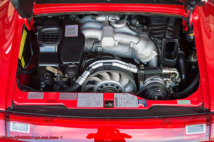 Porsche 911 Engine Compartment