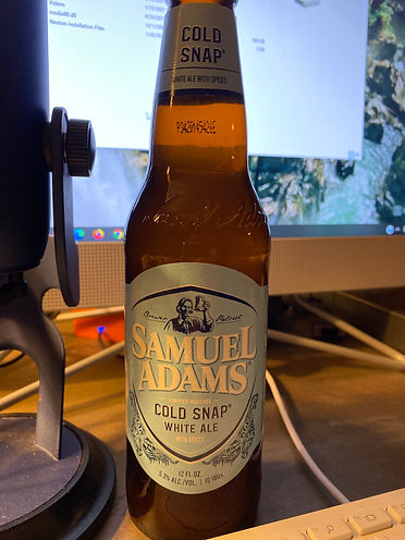 1.17.21 - Cold Snap White Ale (Samuel Ad