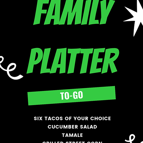 Chef's Special-Family Platter
