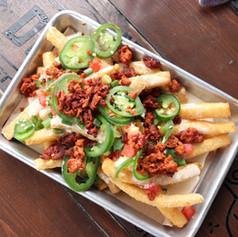 Loaded Yuca Fries