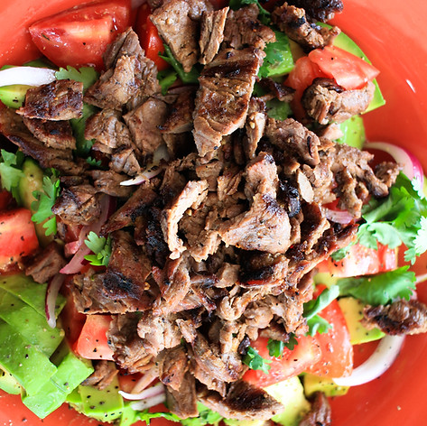 Steak Avocado Salad