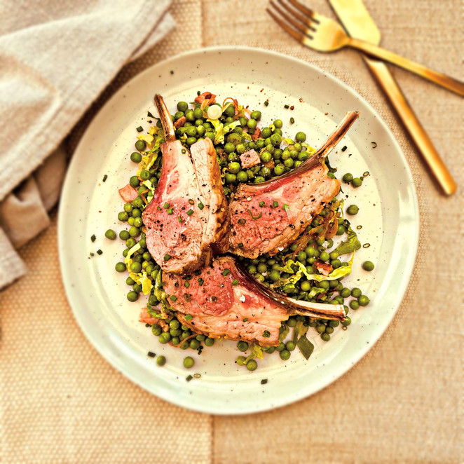 Lamb Cutlets w French Peas.jpg