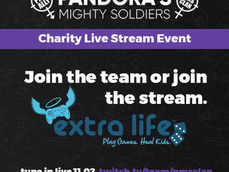 Extra Life Live Stream Charity Event