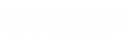 PMS Clan Text Logo White