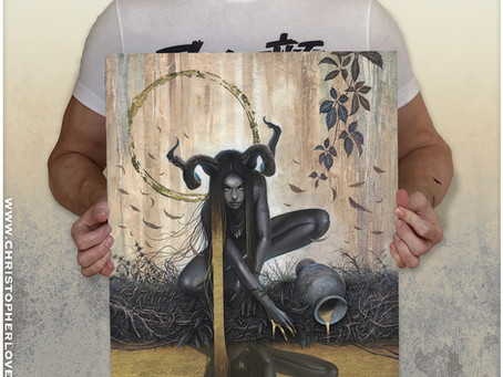 New Print 'Temperance' Available Now!
