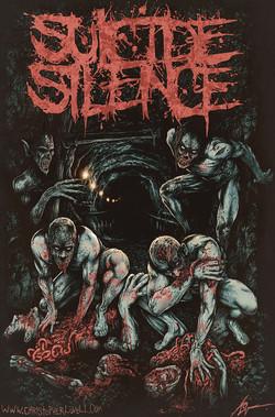 Christopher Lovell Art Suicide Silence