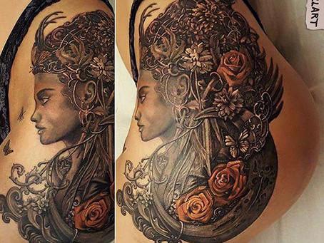 Having my artwork Tattooed....
