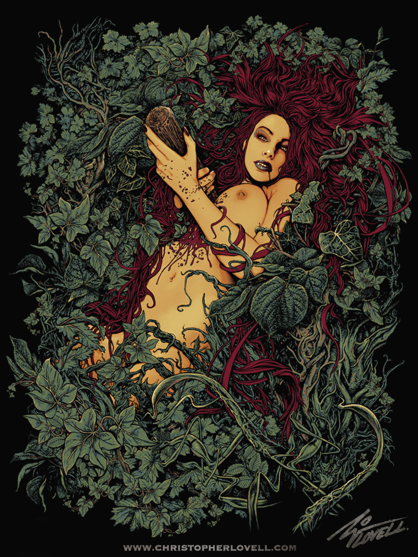 Christopher Lovell iron fist vamp girl d