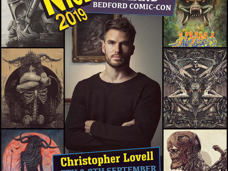 NICE Comic Convention - Sept 2019
