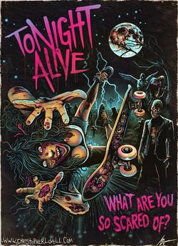 TONIGHT ALIVE - Christopher Lovell Art 2