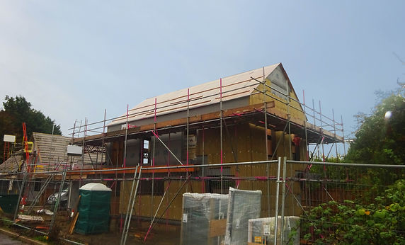 New Build 3 Bed House Under Construction