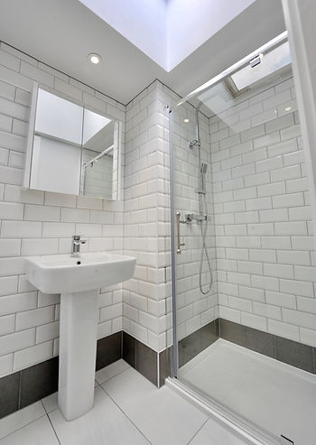 Traditional bathroom in listed building