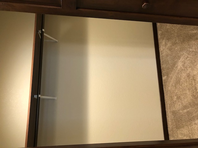 Basement Guest Room Closet