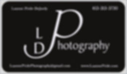 new 2019 LDPhotography card front pearl.