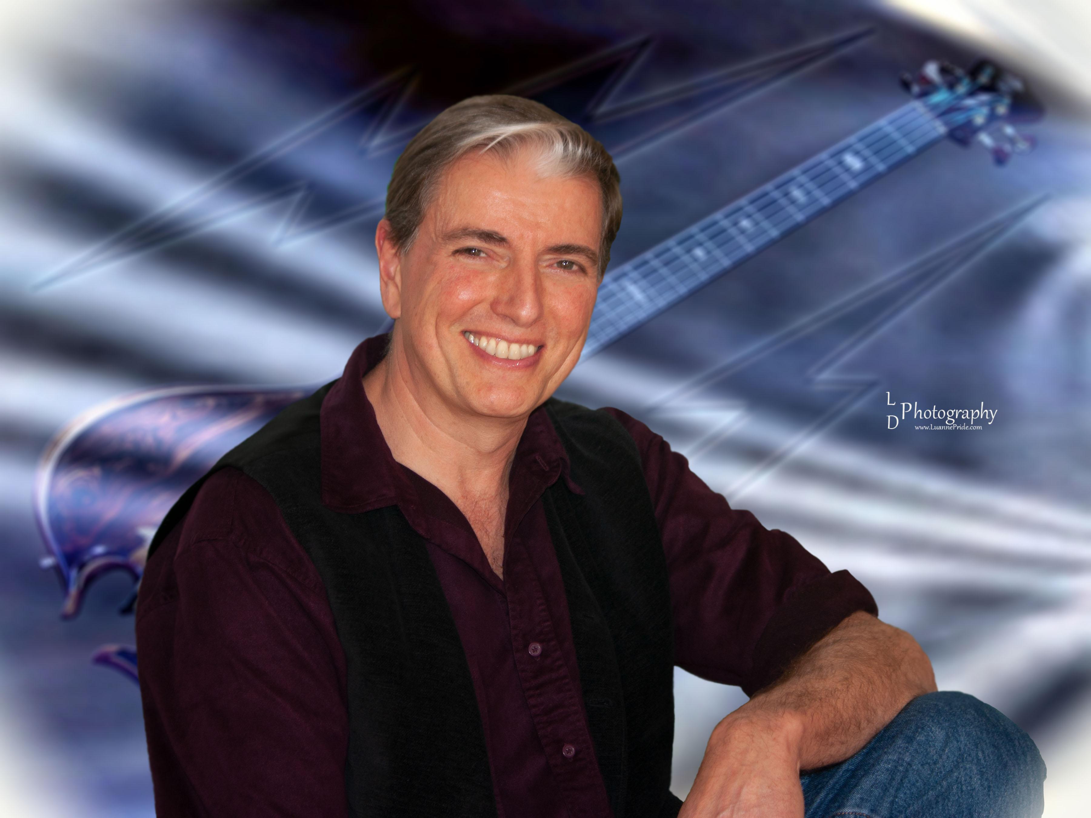 Tim Blue Guitar b