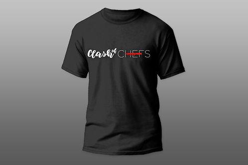 Camiseta Preta - Clash of Chefs
