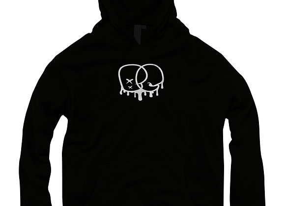 BAY CHIEFIN HOODIE (BLACK WITH WHITE PRINT)