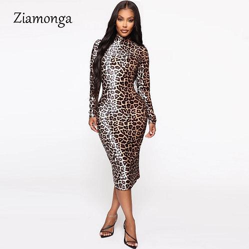 Ziamonga 2020 Fall Bodycon Dress