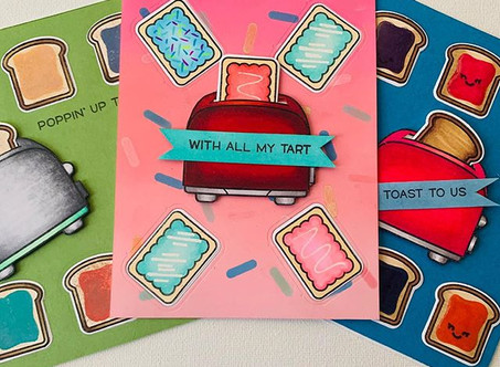Greeting Cards with a side of STICKERS