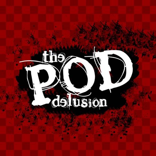 Pod Delusion podcast logo