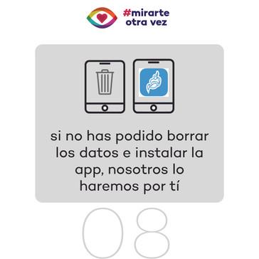 8. Verificación de tablet