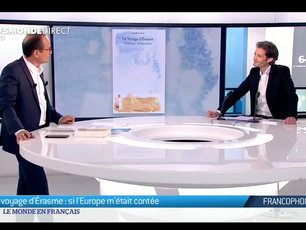 Invité du journal de TV5 Monde (25 Mai 2019)