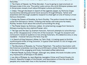 Les Afars, dans l'enfer du danakil parmi les meilleurs livres sur l'Éthiopie pour Lonely Pla