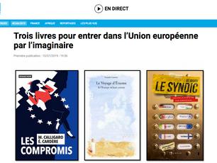 Le Voyage d'Erasme parmi les 3 livres sur l'Union Européenne recommandés par France 24