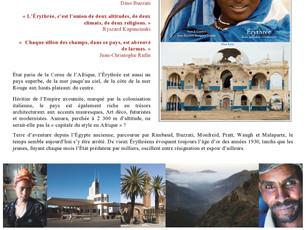 Sortie du livre Erythrée, Entre splendeur et isolement