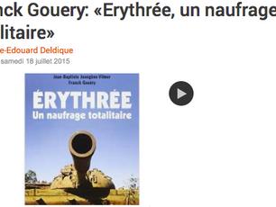 """Interview sur RFI (Une semaine d'actualité) : """"Érythrée, un naufrage totalitaire"""""""