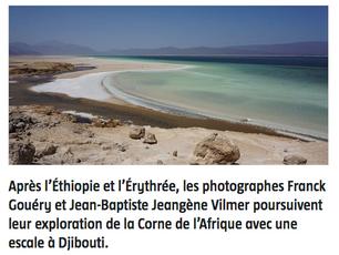"""Article dans Jeune Afrique: """"Djibouti – Photographie : le sel de la vie"""""""