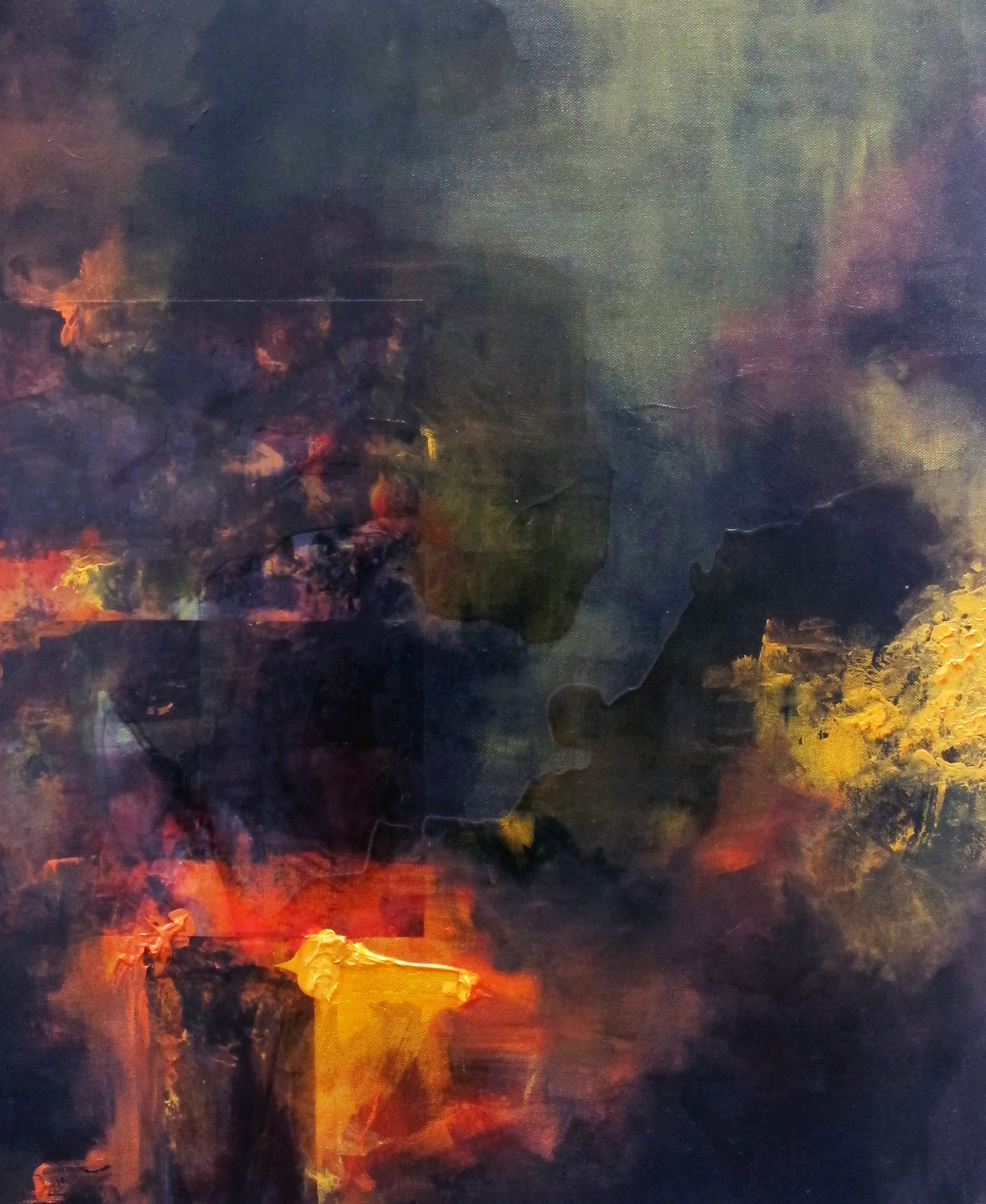 Colour Study 1, 2014 (SOLD)