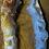 Thumbnail: Medium Oco/Ocho Geode Slice Silver Delicate Pendant