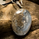 Thumbnail: Plume Agate 30x22 MM Highwall Pendant