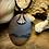 Thumbnail: Montana Dendritic Agate 30x22 MM Flatback Pendant