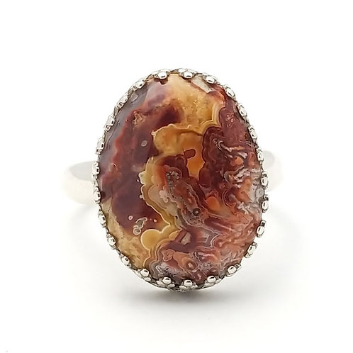 Crazy Lace 18x13 MM Ring