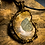 Thumbnail: Ammonite Fossil Bronze Tree of Life Wire Wrap