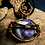 Thumbnail: Small Amethyst Sphere Bronze Wire Wrap
