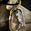 Thumbnail: Pink Brecciated Jasper Silver Plated Gold and Silver Wire Wrap