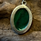 Thumbnail: Malachite 25x18 MM Simple Pendant