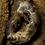 Thumbnail: Extra Small Oco/Ocho Geode Slice Silver Delicate Pendant