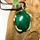 Thumbnail: Malachite 25x18 MM Swirl Pendant